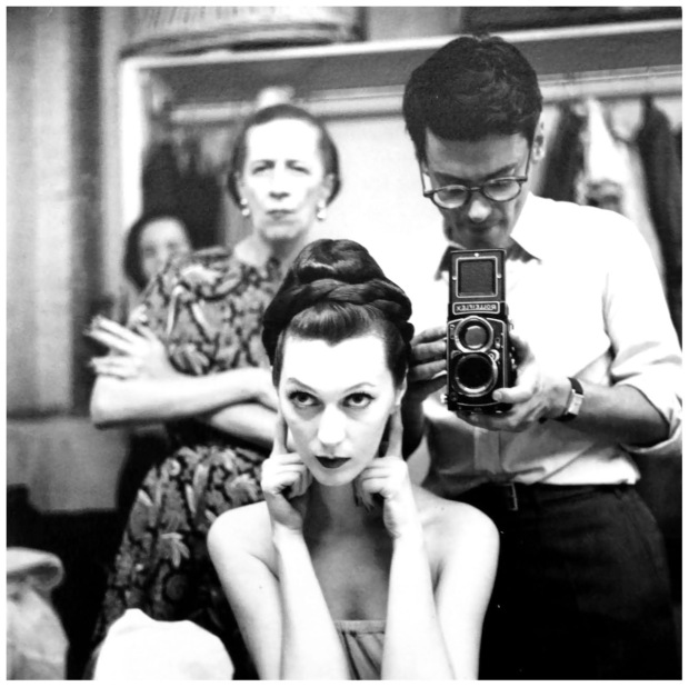 Diana Vreeland and Richard Avedon